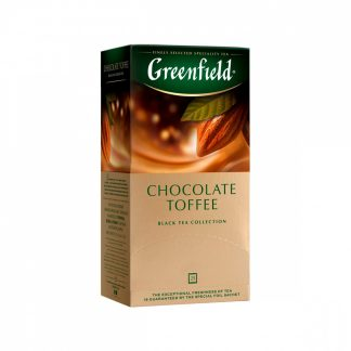 "Чай Greenfield ""Chocolate Toffee"""