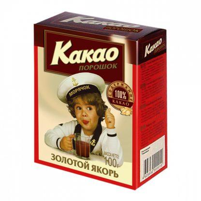 Какао-порошок Золотой Якорь