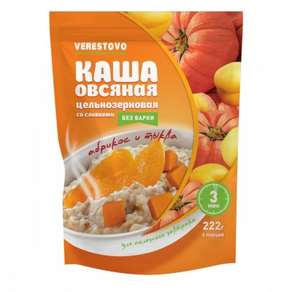 "Каша овсяная Verestovo ""Тыква и абрикос"""