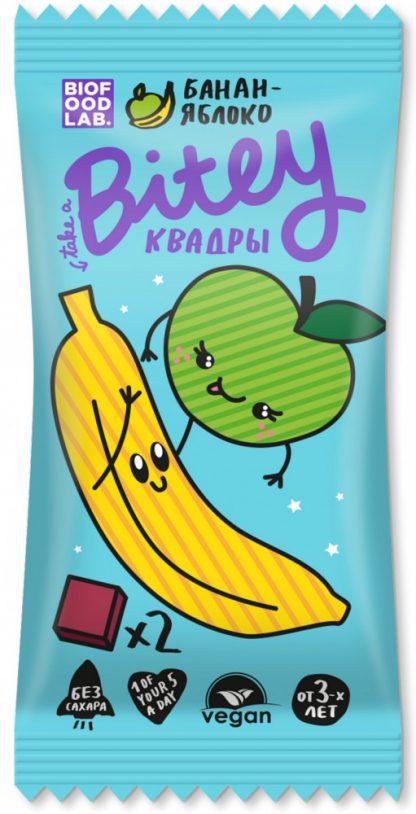 """Батончик овсяно-фруктовый Take a Bitey """"Яблоко-Банан"""""""