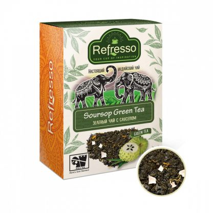 """Чай Refresso """"Soursop Green Tea"""""""