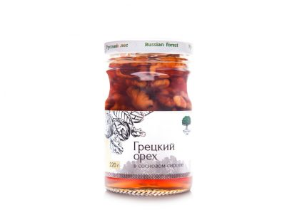 """Десерт Русский лес """"Грецкий орех в сосновом сиропе"""""""