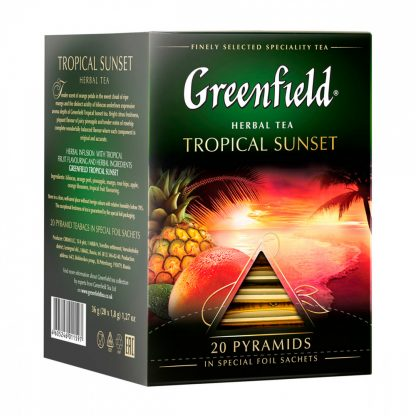 "Чай Greenfield ""Tropical Sunset"""