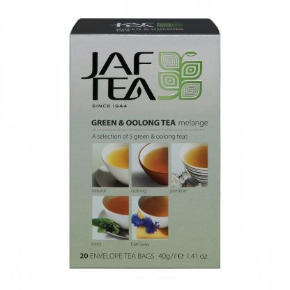 "Чай Jaf Tea ""Green & Oolong Melange"""