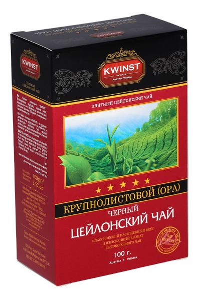 Чай Kwinst черный крупнолистовой