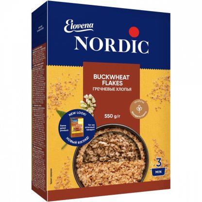 """Хлопья Nordic """"Гречневые"""""""