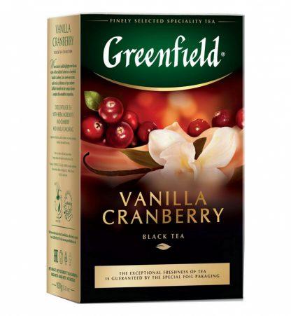 "Чай Greenfield ""Vanilla Cranberry"""