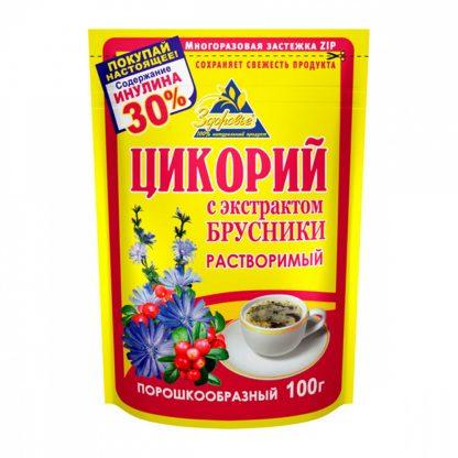 """Цикорий Здоровье """"С экстрактом брусники"""""""