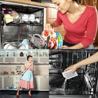 Советы по уборке кухни и уходу за посудомоечной машиной.